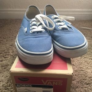 Authentic Navy Blue Vans women size 6.5